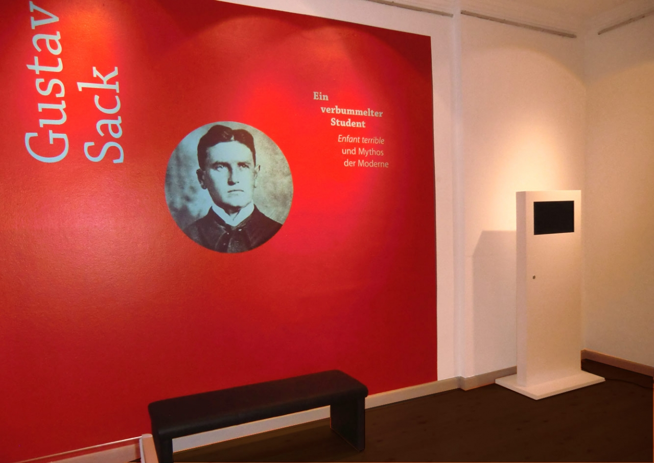 Svenja Limke <strong>Gustav Sack</strong></br>Ausstellungsgestaltung