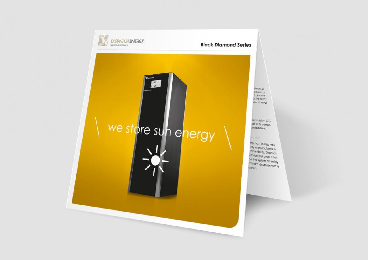 Svenja Limke <strong>Dispatch Energy</strong> –</br>Messeflyer