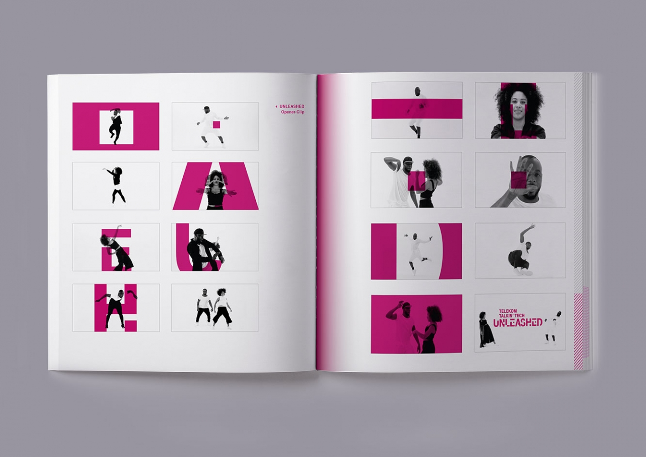 Svenja Limke <strong>Glowing Stages – Eventbook</strong></br>Deutsche Telekom