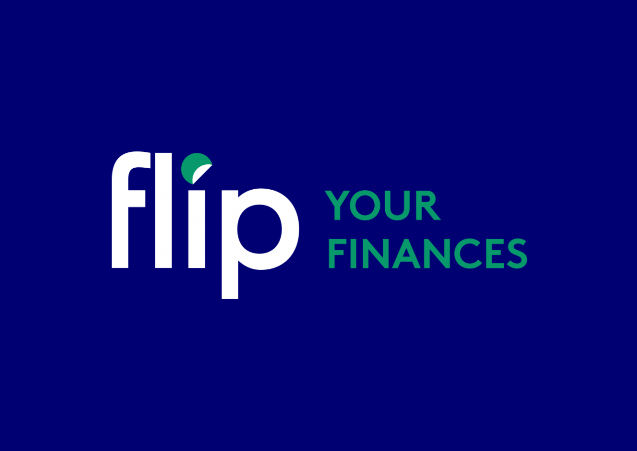Svenja Limke <strong>flip – your finances</strong></br>Coporate Design