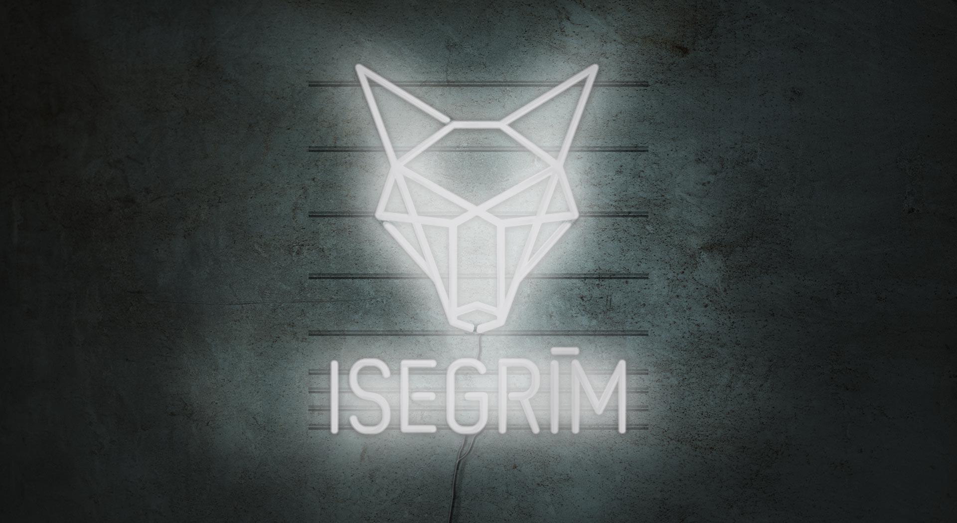 Svenja Limke <strong>ISEGRIM Bar – Café</strong></br>Logo + Corporate Design